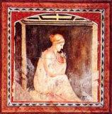 Donna in Contemplazione Poster by Francesco D'elia