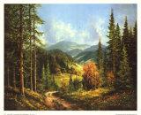 Romantisches Tal I Riesengebirge Posters af Helmut Glassl