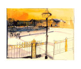 Place de la Concorde Prints by Karlheinz Gross