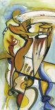 Bongo Rhythm Kunstdruck von Alfred Gockel