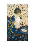 Letter Print by Mary Cassatt