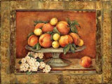 Florentine Peach Art by Pamela Gladding