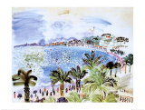 La Promenade des Anglais, c.1928 Prints by Raoul Dufy