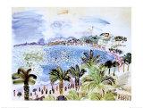 La Promenade des Anglais, ca 1928 Posters av Raoul Dufy
