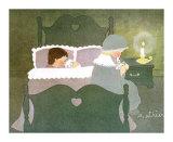 Bonne Nuit Posters by Diane Ethier