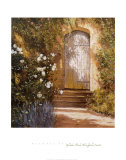 Garden Door, Broughton Castle Posters by Michael Felmingham