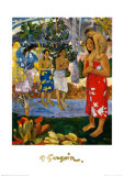 Orana Maria Print by Paul Gauguin