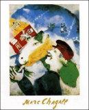 Rural Life Poster van Marc Chagall