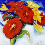 Vibrant Bouquet Plakater av Gockel, Alfred