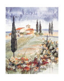 Toscane I Print by Franz Heigl