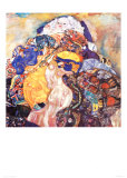 Cradle Posters by Gustav Klimt
