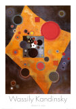 Acento en rosa Pósters por Wassily Kandinsky