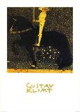 Gold Cavalier Pôsters por Gustav Klimt