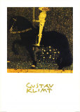 Gold Cavalier Posters by Gustav Klimt