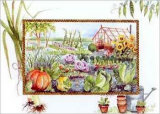 Vegetable Garden Print by Alie Kruse-Kolk