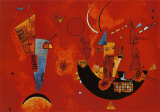 Mit und Gegen, cerca de 1929 Pôsters por Wassily Kandinsky