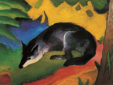 Fox, c.1913 Prints by Franz Marc