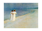 Promenade a la Plage Prints by Peder Severin Kr&#246;yer