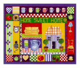 Home Sweet Home Art by Alie Kruse-Kolk