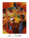 Tightrope Walker Posters by Auguste Macke
