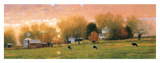Fall Pasture Poster by Raymond Knaub