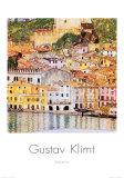 Malcesine en el Garda Póster por Gustav Klimt