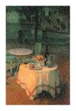 Der Kleine Gedeckte Tisch Posters by Henri Le Sidaner