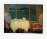 Terrasse am Meer Bei St Trope Posters by Henri Le Sidaner