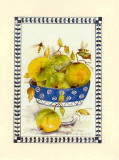 Fruit Bowl I Print by Alie Kruse-Kolk