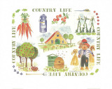 Country Life Posters by Alie Kruse-Kolk