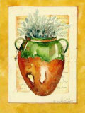 Brown Pot I Prints by Alie Kruse-Kolk