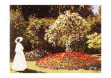 Promenade Dans un Parc Prints by Claude Monet