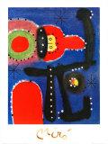 絵画1954 ポスター : ジョアン・ミロ