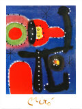 Peinture, c.1954 Prints by Joan Miró