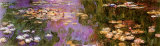 Water Lilies I Posters by Claude Monet