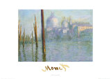 The Grand Canal of Venice Poster van Claude Monet