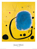 Gold und Blau|El oro del azur Poster von Joan Mir&#243;