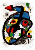 Carota Lámina por Joan Miró
