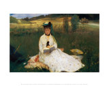 Reading Print by Berthe Morisot