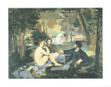 Dejeuner sur l'Herbe Posters by Édouard Manet