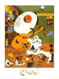 オランダの室内I ポスター : ジョアン・ミロ