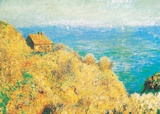 The Custom Officer's House at Varengeville Posters by Claude Monet
