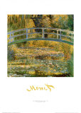 Water Lily Pond Posters by Claude Monet