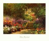 Garden Steps Posters by Allan Myndzak