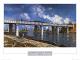 Bridge Posters by Claude Monet