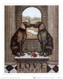 Liebe stirbt nie Poster von Steven Lamb