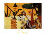 Terre Labouree, c.1923 Prints by Joan Mir&#243;