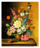 Altmeisterliche Blumen Print by Corrado Pila