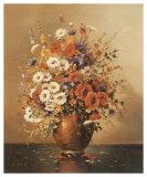 Altmeisterlicher Blumenstrauss Posters by Corrado Pila