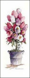 Tulip Topiary Art by Carol Robinson